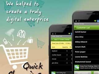 Mobile Order Entry Framework
